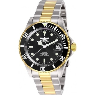 Link to Invicta Men's 28663 'Pro Diver' Invicta Connection Automatic Gold-Tone and Silver Stainless Steel Watch - Multi Similar Items in Men's Watches
