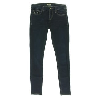 True Religion Womens Dark Wash Denim Skinny Jeans - 30