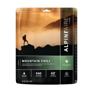 Alpine Aire Foods Gs249154 Mountain Chili Serves 2 60101