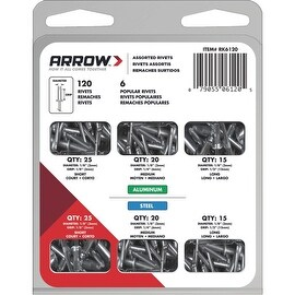 Arrow Rivet Assortment