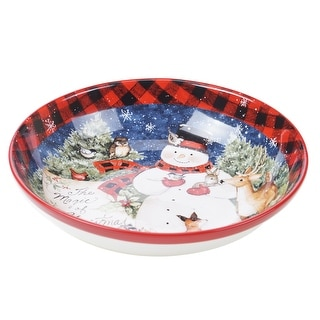 Link to Certified International Magic Of Christmas Snowman Serving Bowl Similar Items in Serveware