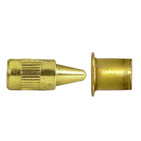 Deltana 44368 Solid Brass Door Mounted Hinge Pin Stop
