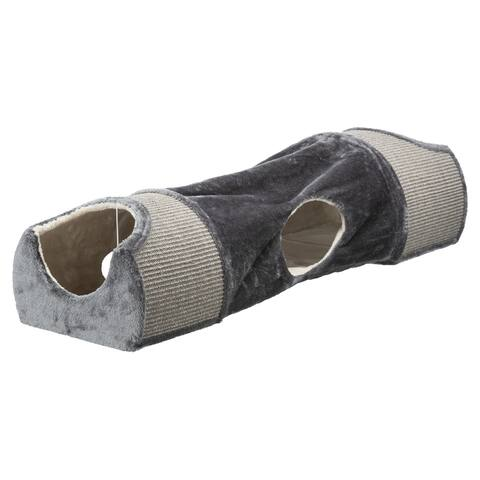 """TRIXIE Scratching Tunnel Gray - 15"""" x 44"""" x 11.5"""""""