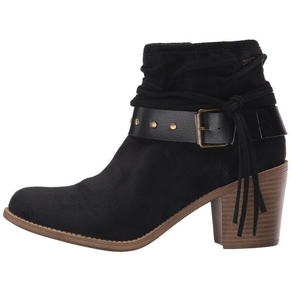 Roxy Womens Dallas Closed Toe Ankle Fashion Boots - 9