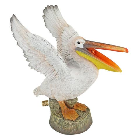 Design Toscano Oceanside Pelican Spitter Piped Statue