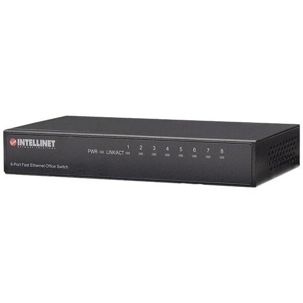 Intellinet 523318 Desktop Ethernet Switch (8 Port)