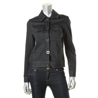 Studio M Womens Juliane Denim Jacket Denim Stretch