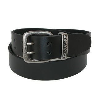 Dickies Men's Leather Two Prong Casual 1 1/2 Inch Belt