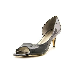 Tahari Race Women Open-Toe Synthetic Black Heels