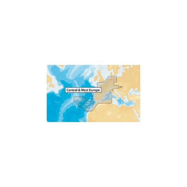 Lowrance MSD/NAVplus46XG/ROW Navionics Plus - MSD Central & West Europe