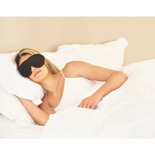 Sound Oasis Glo To Sleep Therapy Mask Black