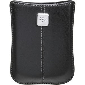BlackBerry Leather Pocket Case for BlackBerry Storm 9500, 9530 (Black)