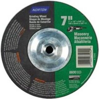 """Norton 07660775942 Silicone Carbide Masonry Wheel, 7"""""""