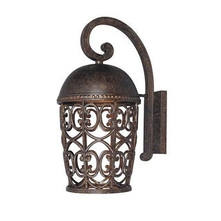 Designers Fountain 97593 Single Light Down Lighting Outdoor Wall Lantern from the Dark Sky Amherst Collection