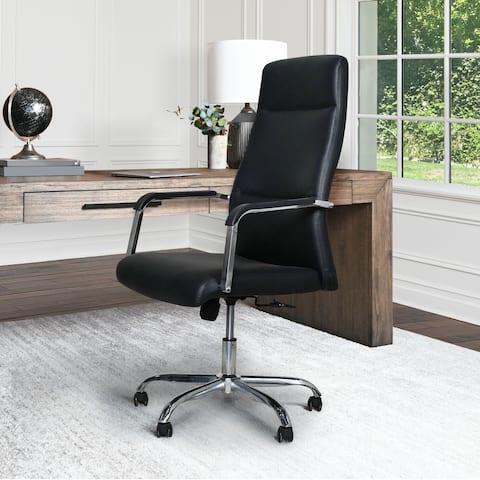 Abbyson Pella Adjustable Office Chair