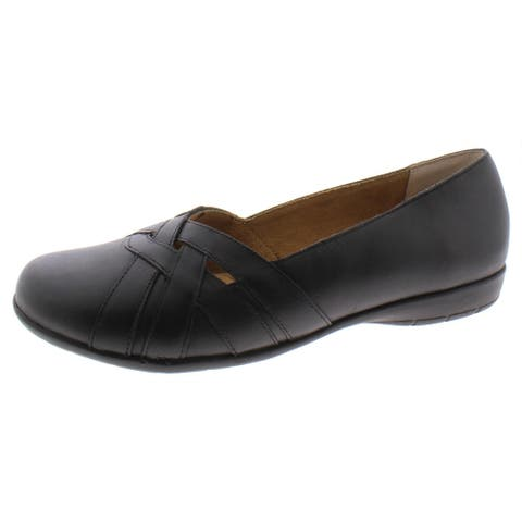 Array Womens Bonaire Loafers Leather Slip On