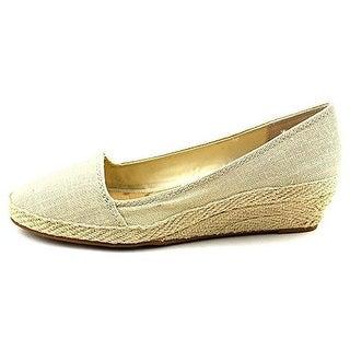 Lucky Brand Womens Tomlinn Canvas Slip On Wedge Heels - 10 medium (b,m)