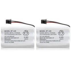 Replacement BT446 Battery for Uniden 5.8GHz TRU8880-2 / TRU9488 / TWX977 Phone Models (2 Pack)