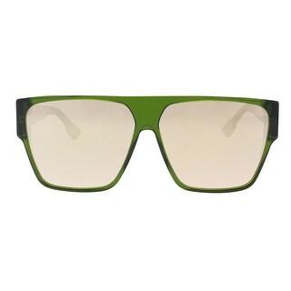 Christian Dior DIORHIT 01ED Green Square Sunglasses - 62-12-145