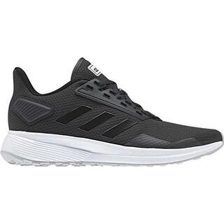 adidas Women's Duramo 9 Running Shoe Carbon/Black/Grey Two