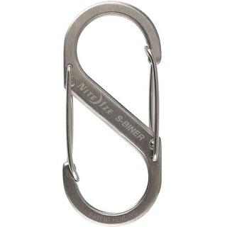 Nite Ize SB2-03-11 #2 Stainless Steel S-Biner Carabineer, Silver