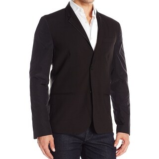 Kenneth Cole Reaction NEW Black Mens Size XL 47 Two Button Blazer