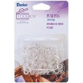 Clear - Push Pins 50/Pkg