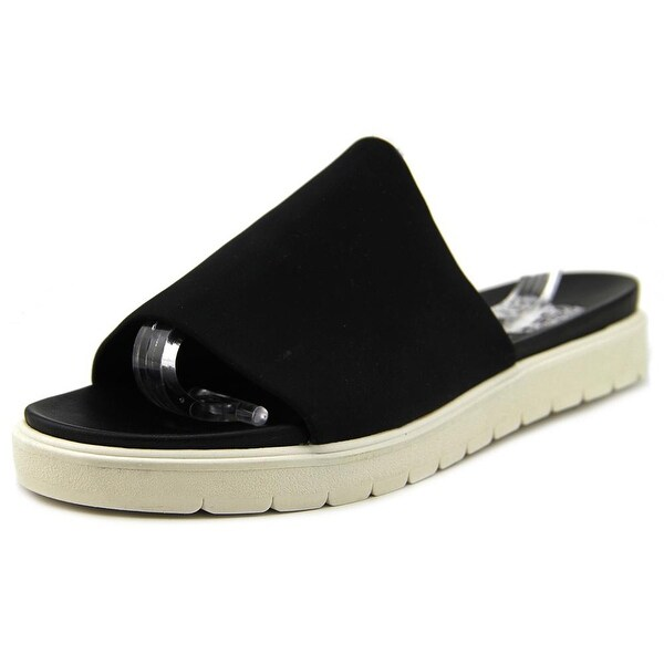 Vince Camuto Shelly 1 Women Open Toe Synthetic Black Slides Sandal