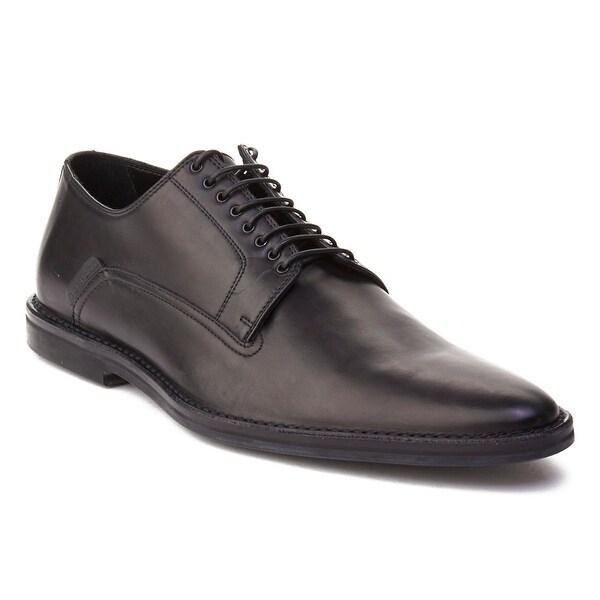 Dior Homme Men's Leather Oxford Derby Dress Shoes Black
