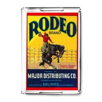 Rodeo Vegetable - Vintage Label (Acrylic Serving Tray)