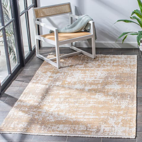 Safavieh Augustine Siepie Modern Abstract Fringe Rug
