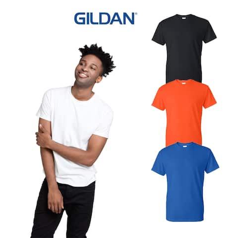Gildan Men's (4 PACK) DryBlend T Shirt Cotton/Polyester