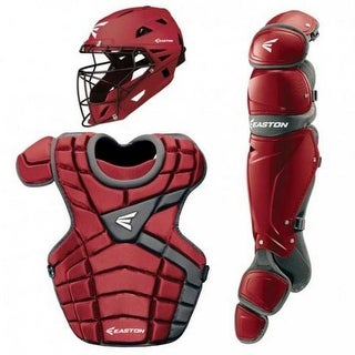 Easton Youth M10 Catchers Set, Leg Guards, Chest Protector & Helmet - A165341