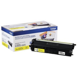 Brother International TN433Y High Yield Toner - Yellow