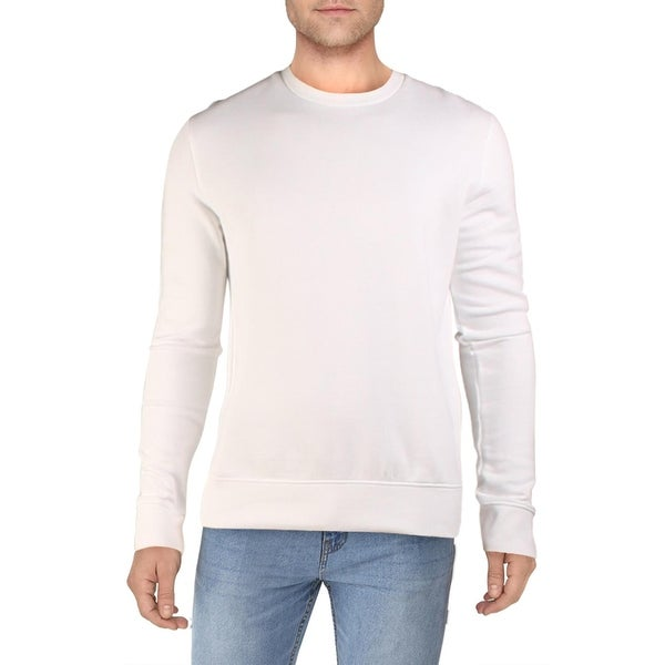 French Connection Mens USA Sweatshirt Logo Comfy - White. Opens flyout.