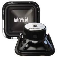 Hifonics BRZ12SQD4 Brutus Dual Square Subwoofer, 4-Ohm 600-Watt 12-Inch