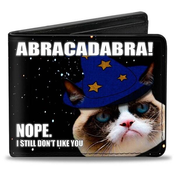Grumpy Cat Abracadabra! Nope. I Still Don't Like You Bi Fold Wallet - One Size Fits most