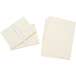"Ivory - Heavyweight A7 Cards/Envelopes (5.25""X7.25"") 50/Pkg"