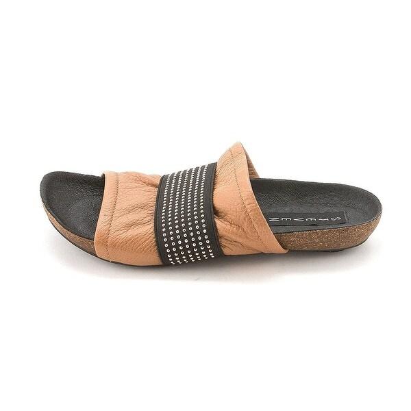 Steven Steve Madden Kayden Leather Slides Sandal