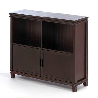 Espresso Wood Cabinet
