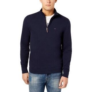 Tommy Hilfiger Mens Sweater Long Sleeves Mock Neck - XxL