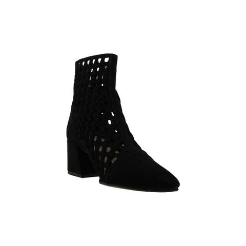 Aldo Womens Garerien Suede Pointed Toe Ankle Fashion Boots