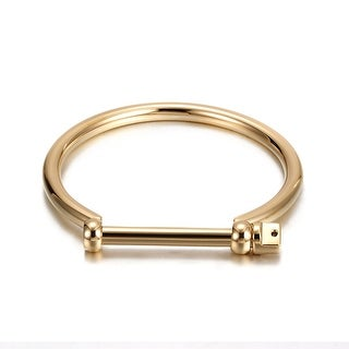 Industrial Screw Cuff Bracelet