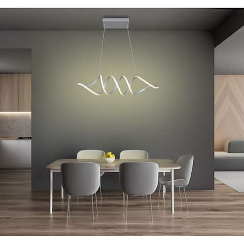 Infinito 68W Modern Unique/Statement Geometric LED Dimmable Chandelier - 47
