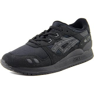 Asics Gel-lyte III PS Youth Round Toe Synthetic Black Sneakers