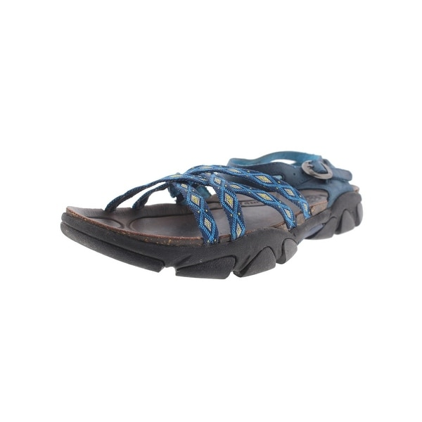 Keen Womens Naples II Webbing Sport Sandals Leather Printed