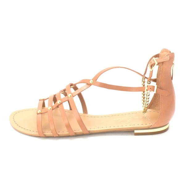 Marc Fisher Womens Ellie Leather Open Toe Casual Gladiator Sandals - 8