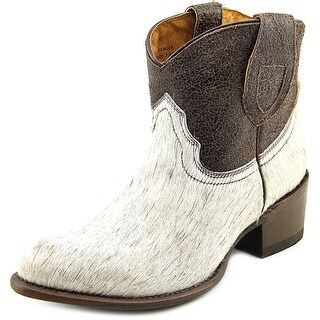 Matisse Ranger Round Toe Leather Western Boot