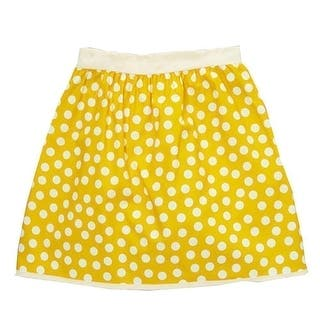 Girls Yellow Ivory Polka Dotted Pattern All Over Cotton Skirt 7-10 https://ak1.ostkcdn.com/images/products/is/images/direct/3cedec0791711f20dc49d0dfeadfbfcc8b4b1e60/Big-Girls-Yellow-Ivory-Polka-Dotted-Pattern-All-Over-Cotton-Skirt-7-10.jpg?impolicy=medium