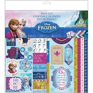 """Disney Page Kit 12""""X12""""-Frozen"""
